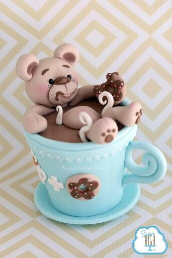Hot chocolate bear