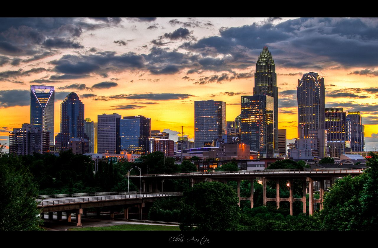 Image result for charlotte nc skyline