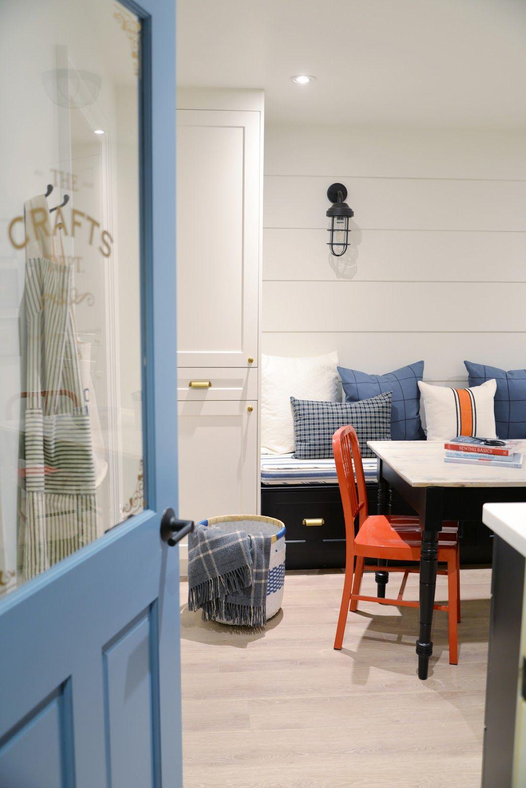 A Modern Coastal Craft Room Reveal ProjectCraftsDept