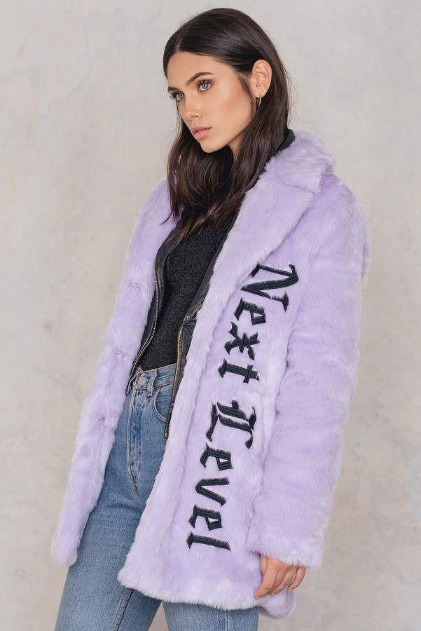 76e222902 Faux Fur Embroidery Coat in 2019 | dress | Faux fur jacket, Faux fur ...