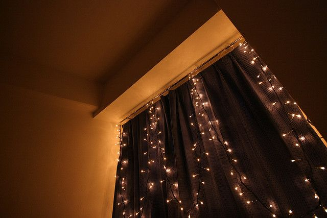 View Of My Bedroom Window With Fairy Lights Fairy Lights Bedroom Fairy Lights Bedroom Windows