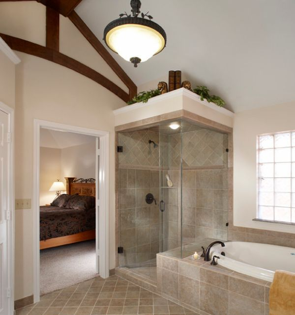 Steam Room Design Ideas Part - 22: Compact Steam Shower Design Idea