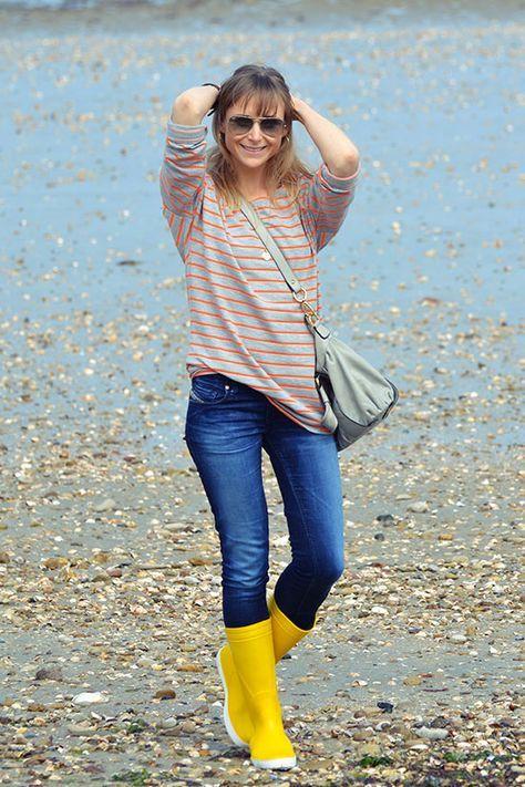 bottes de pluie : Méduse - jean: Diesel - lunettes: rayban -> http://wwW.modenmarie.com #diesel #meduse #rayban