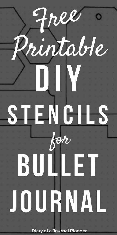 Bullet Journal Stencil DIY Tutorial