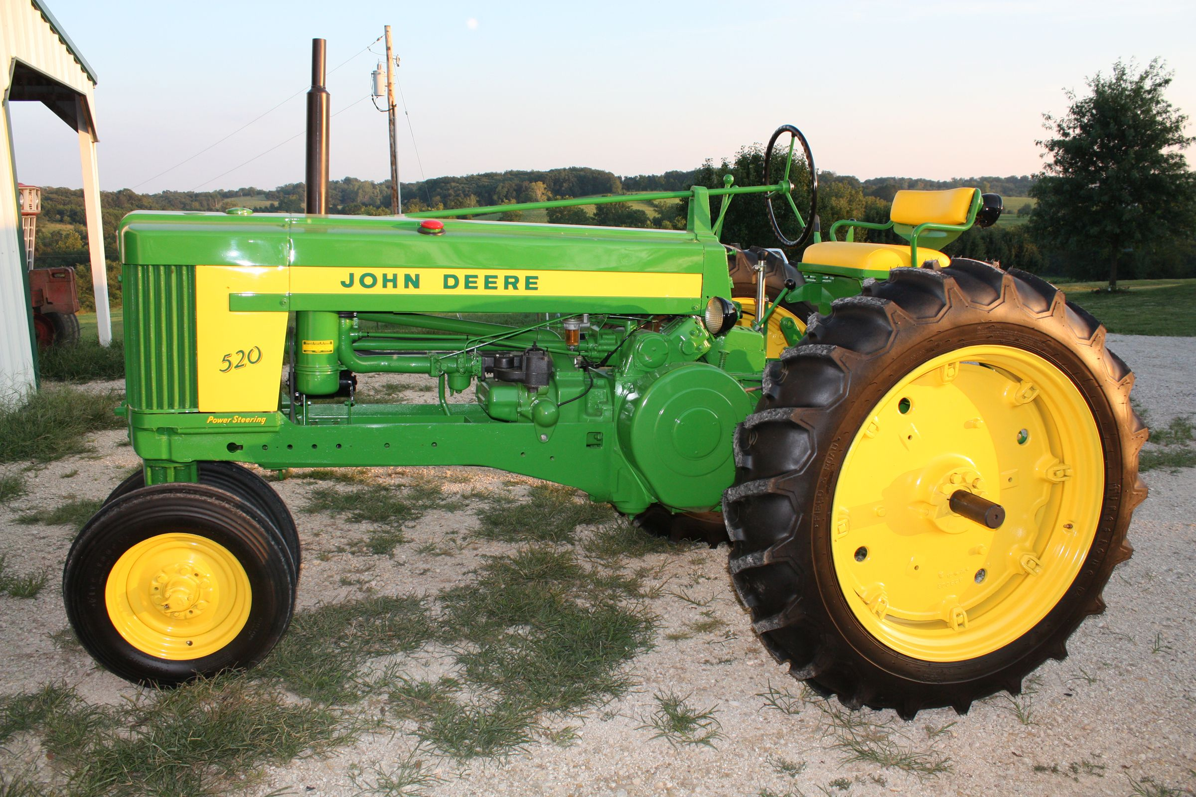 Old John Deere Tractors : Old john deere tractors antique tractor restoration