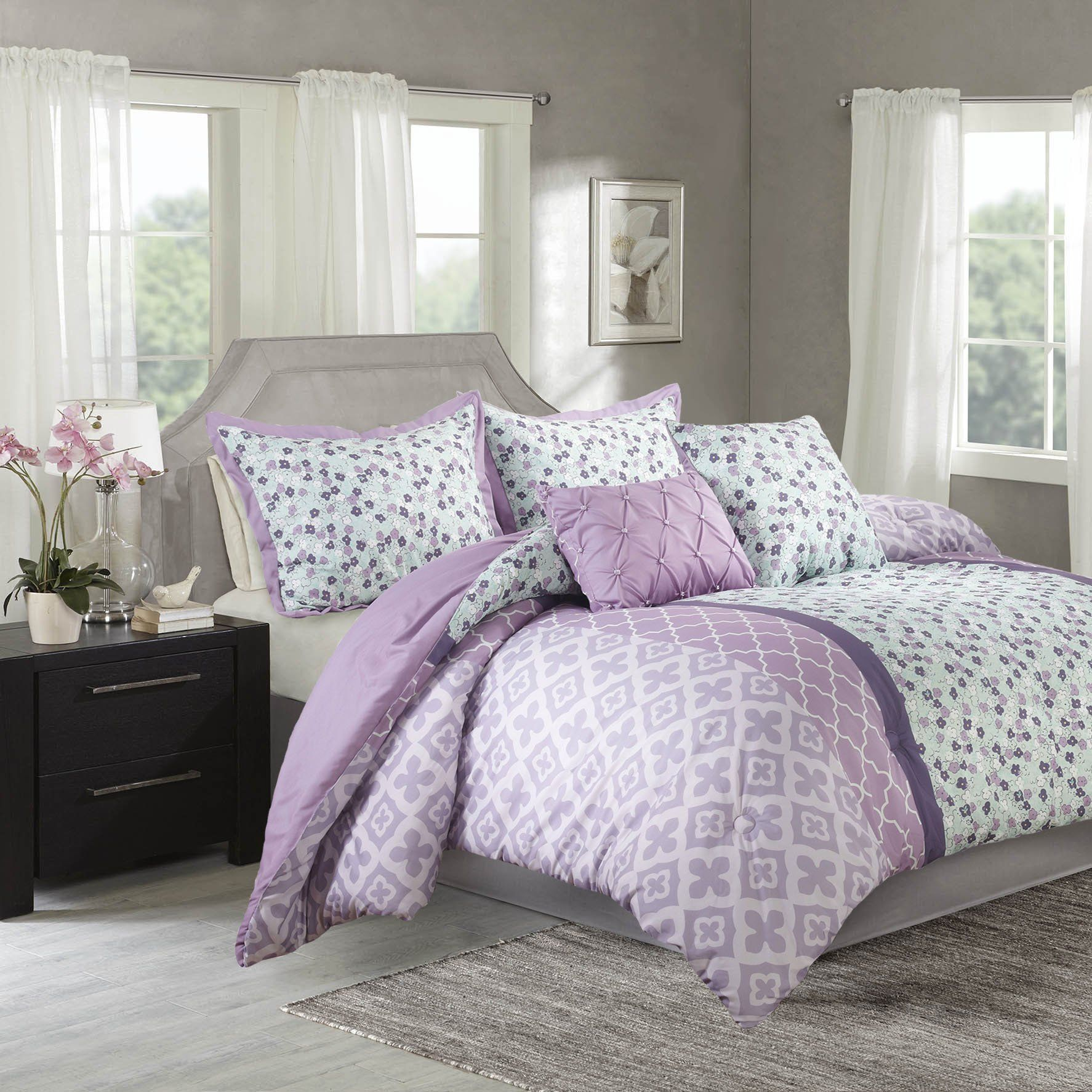 rc marvelous nice full ideas comforter inviting and house wells bedroom bed black as pertaining bedding showy size to ideasin x provide in sets purple multipurpose design with