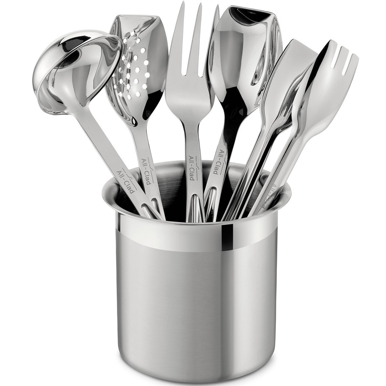 All-Clad 6-Piece Cook Serve Tool Set | Kitchen utensil set ...