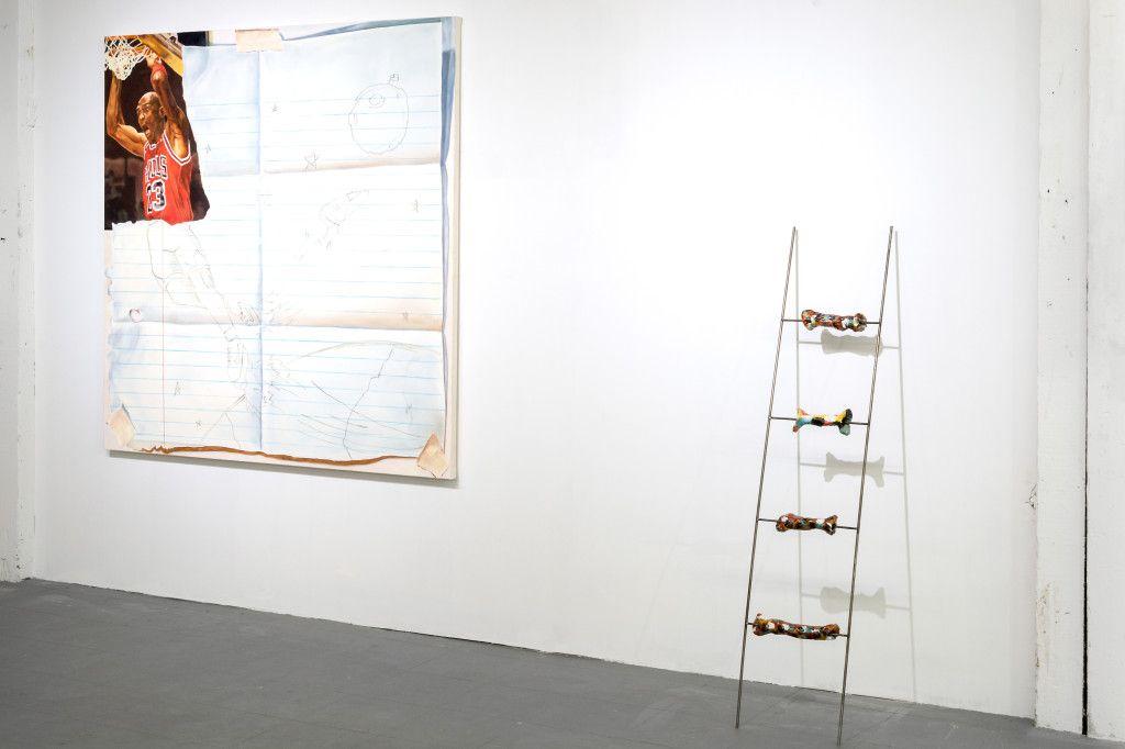 Installation view of NEW BARRACUDA  proto-gallery.com