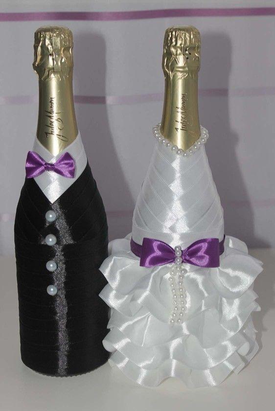 Anna Drahutov | Arts Crafts | Wedding bottles, Wedding ...