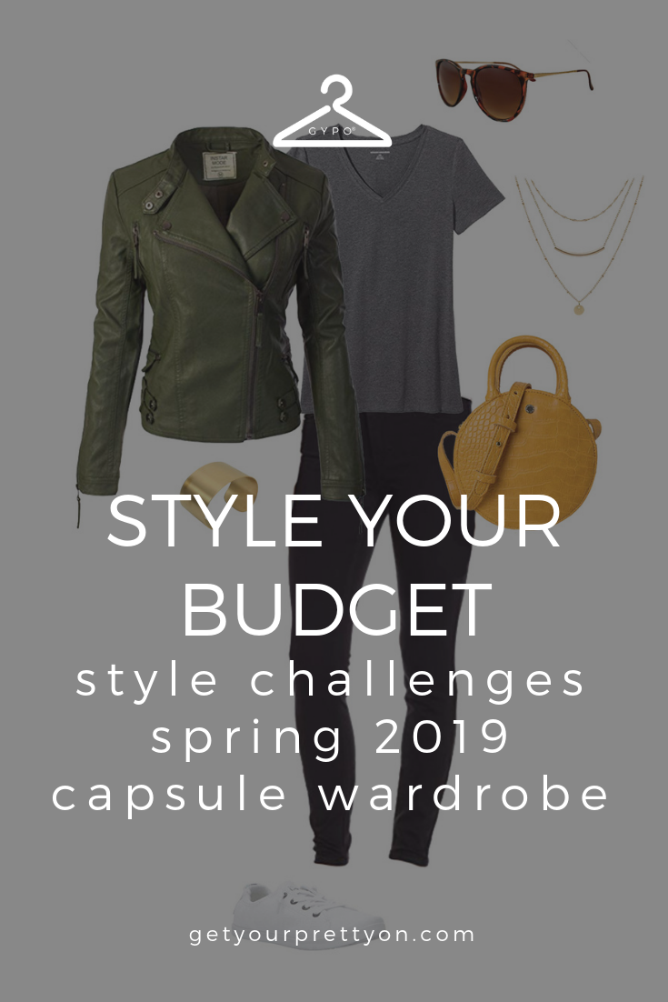 68d5498fbb0 Style Your Budget  Style Challenges Spring 2019 Capsule Wardrobe from Get  Your Pretty On.