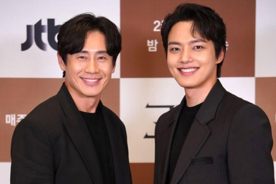 "Yeo Jin Goo And Shin Ha Kyun Share Admiration For ""Beyond Evil"" Script And Discuss Their Characters"