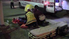 Bayramiç ilçemizde trafik kazası 1 yaralı