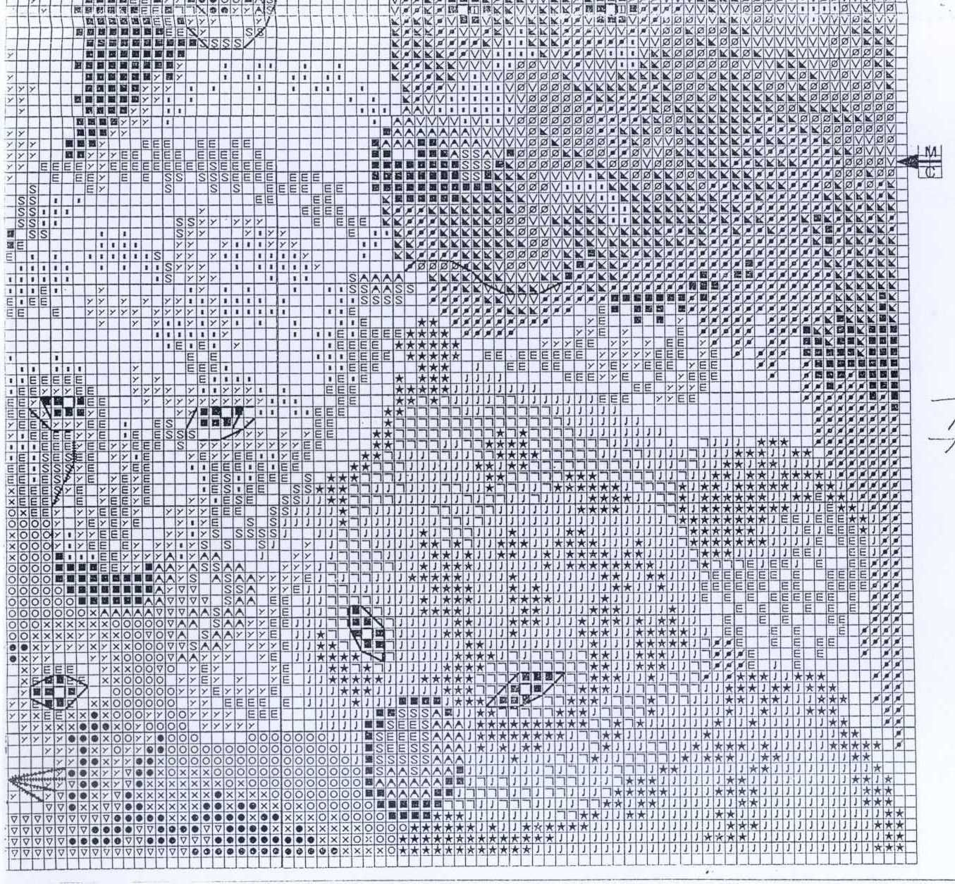 Cross-stitch patterns - Borduur patronen (8)