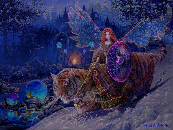 Tiger's. Fairy.