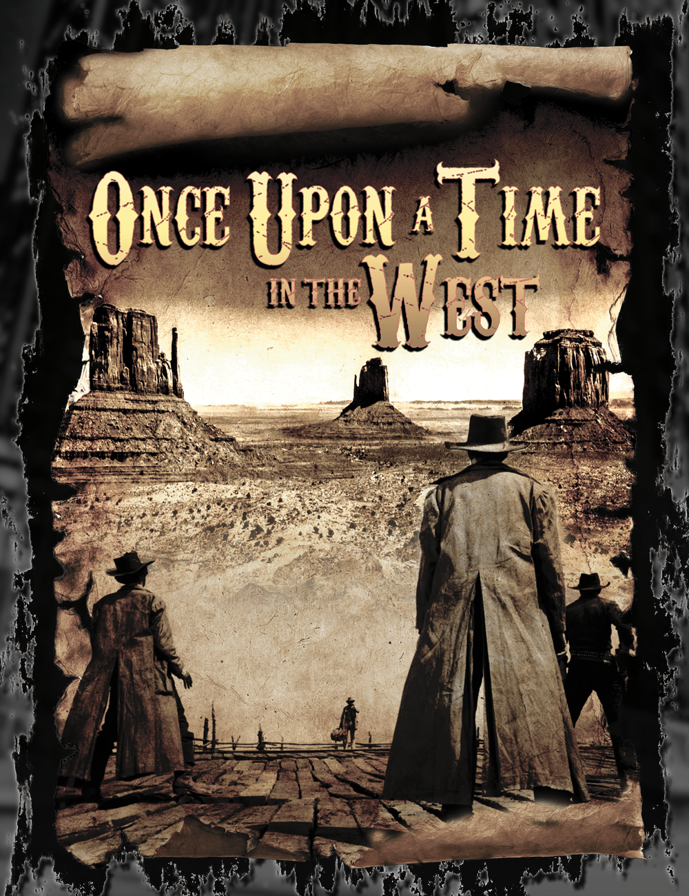 Once Upon A Time In The West Sergio Leone T Shirt  T shirt