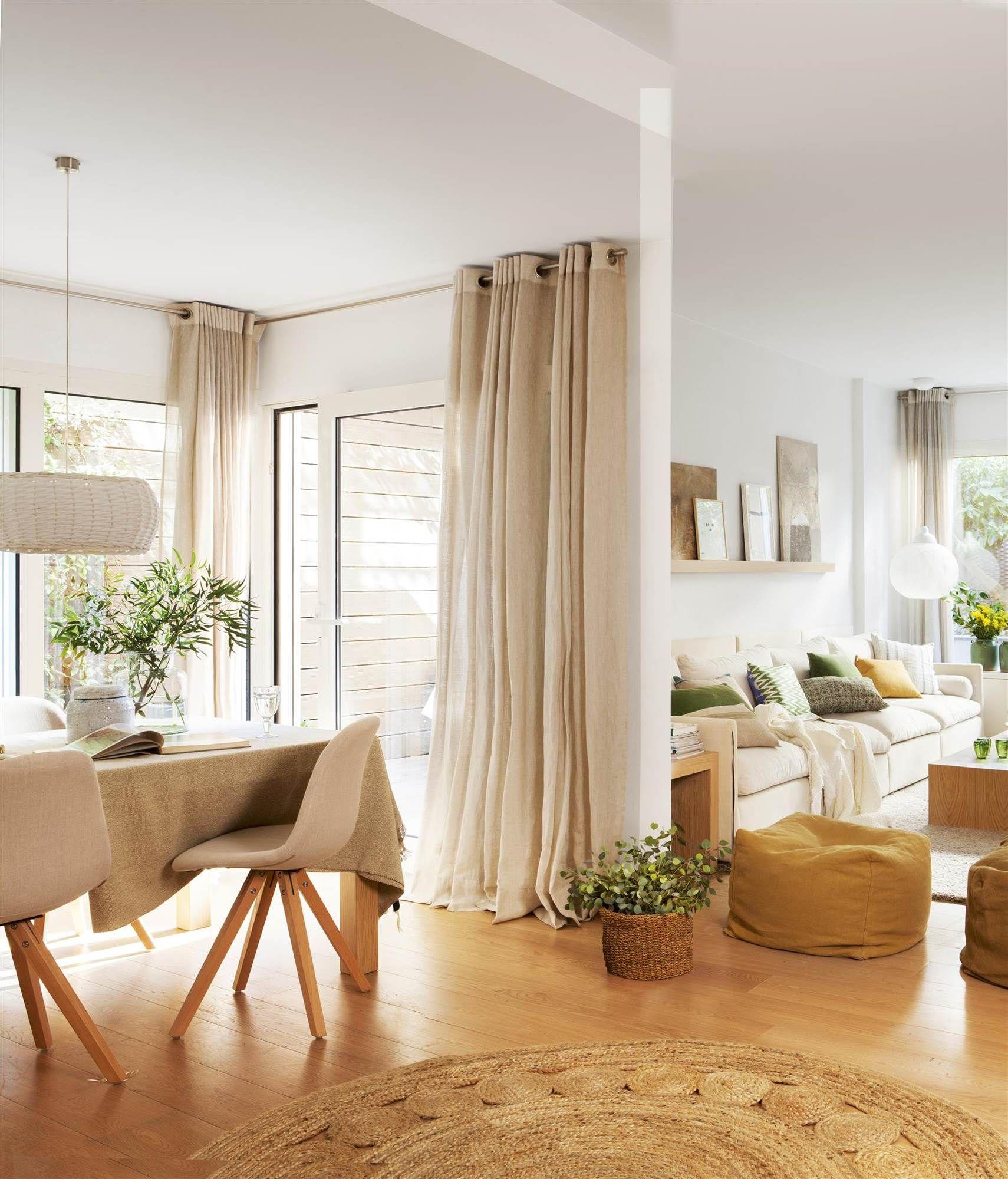 Zona de paso en 2019 decoracion pinterest - Cortinas comedor modernas ...