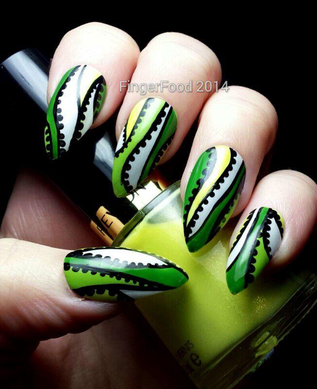 FingerFood #nail #nails #nailart   See more at http://www.nailsss ...