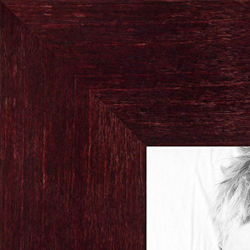 Arttoframes 10x26 Inch Dark Cherry Stain On Hard Maple Wood Picture Frame 2wom0066 71206 Ychy 10x26 To V Picture On Wood Wood Picture Frames Picture Frames