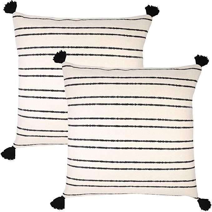 Woven Nook Decorative Throw Pillow Euro Size