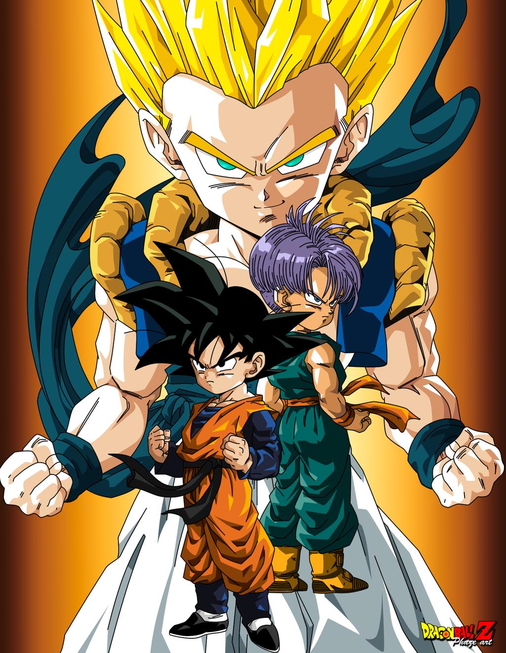 Gotenks By Phazen1 On Deviantart Dragon Ball Z Anime Dragon Ball Dragon Ball