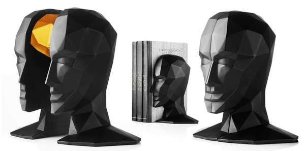 Brainy Book Holders | For the Bibliophile | Pinterest