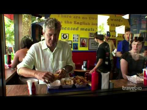From mild to wild, #Chicago is a culinary hotbed with a bevy of eateries to satisfy even the most scrutinizing palate.  Check out this review of Chicago's famous Hot Doug's on Anthony Bourdain: No Reservations.