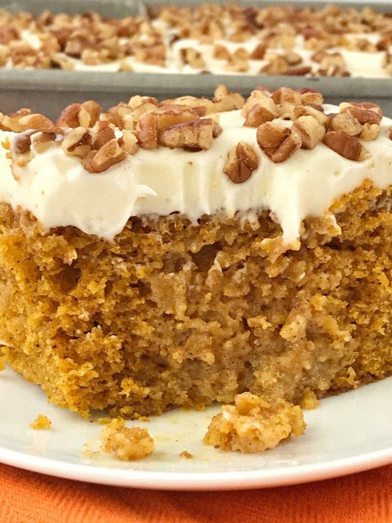 Pumpkin Pie Poke Cake Together As Family Pumpkin Cake Recipes Sweetened Condensed Milk Recipes Milk Recipes