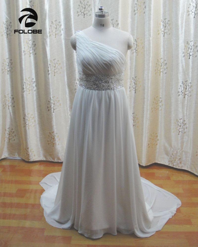 Ivory beach wedding dresses  Click to Buy ucuc Vestido De Noiva Custom Made WhiteIvory Chiffon