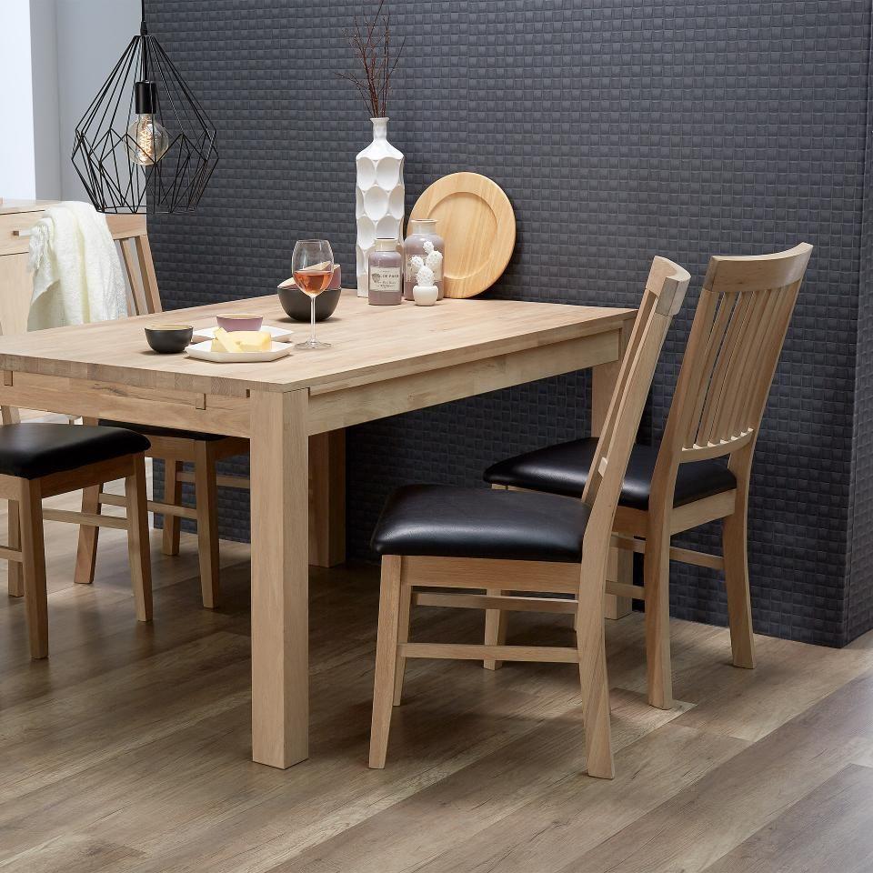 Esszimmerstuhl Nordic Oak Preiswert Danisches Bettenlager