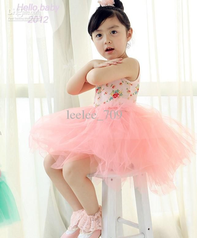 Baby Girl Kids Vintage Floral Tutu Dress Lace Super Fluffy Petti Dress Vest Cotton 6 Layers Good Quality 5 Online with $63.88/Piece on Leelee_709's Store | DHgate.com