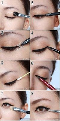 8 Langkah Make Up Wajah Lonjong dan Merias Mata Sipit