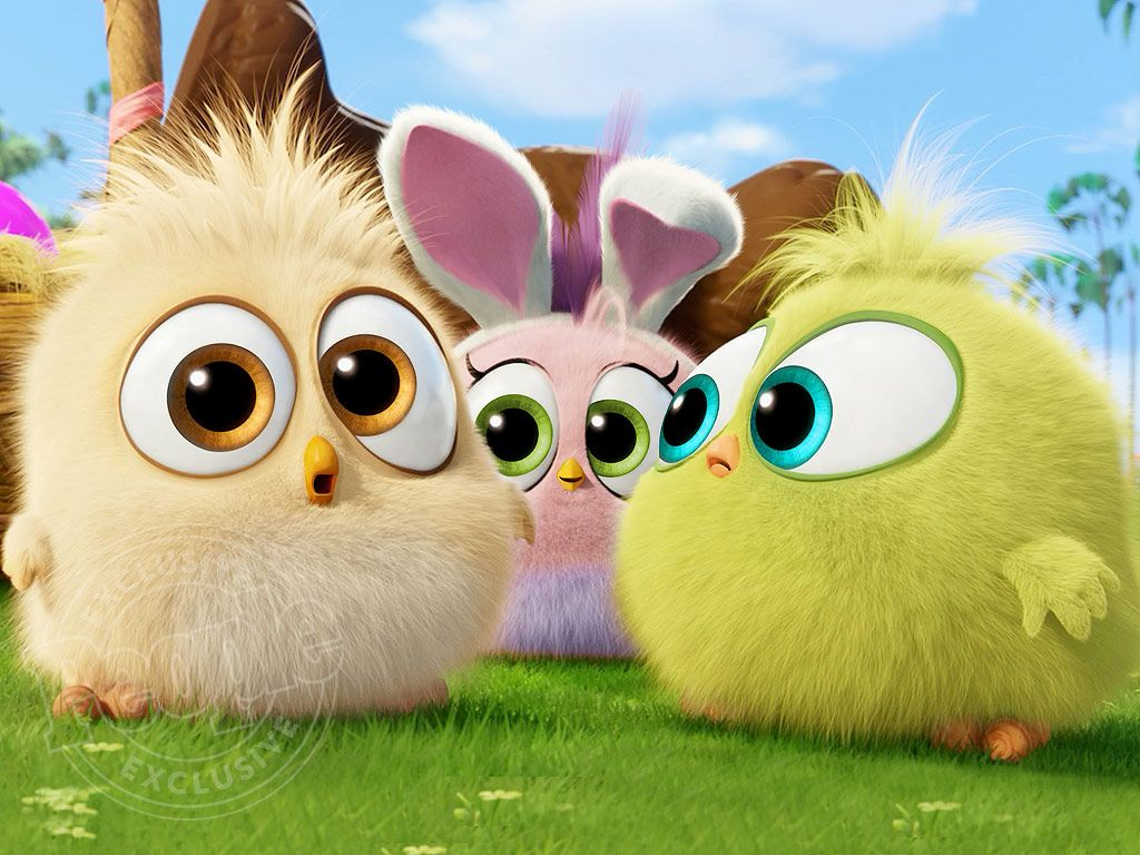 The Angry Birds Movie See The Hatchlings In Easter Themed Clip Angry Birds Movie Cute Birds Bird Gif