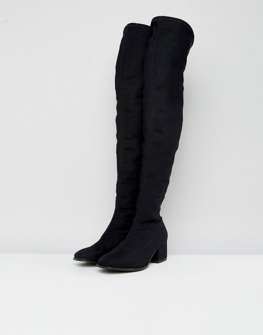 970bbf7605d Vagabond Daisy Over The Knee Boots - Black