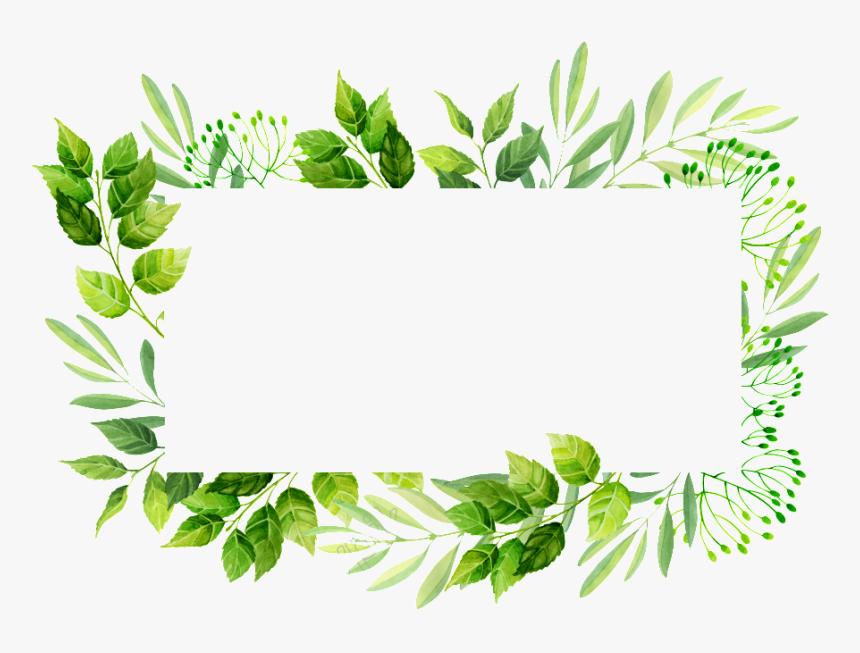 Vector Frame Png Transparent Images Leaves Invitation Frame Png Png Download Flower Frame Png Flower Frame Leaf Invitations