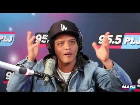 7ea4ee5963 Bruno Mars visits 95.5 PLJ! - YouTube