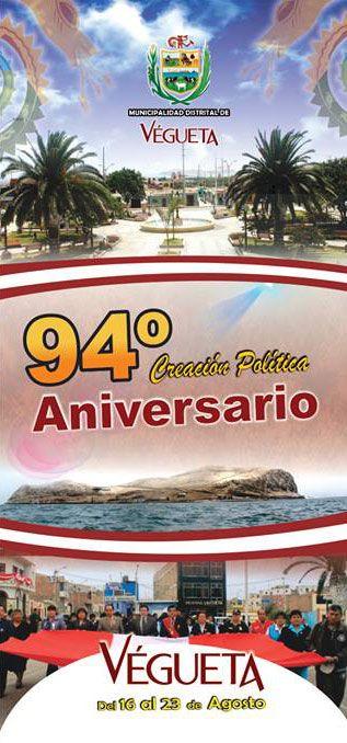 94º aniversario del distrito de Végueta