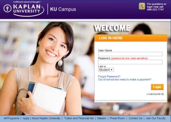 kaplan university login making education easier technology