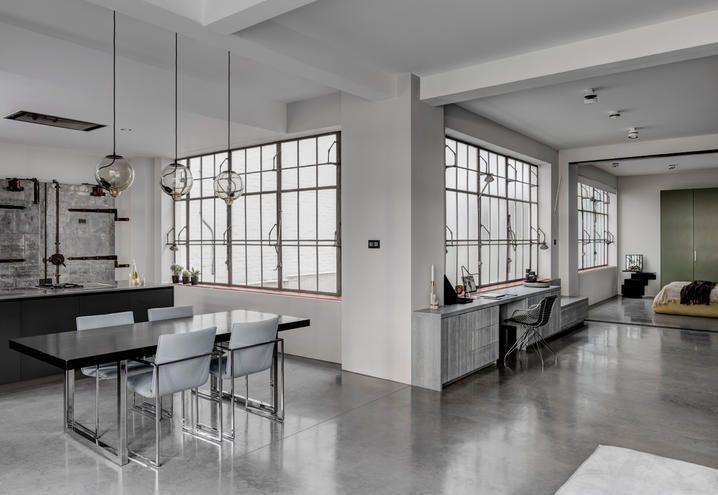 Loft Open Space A Londra Atmosfere Industrial E Design Moderno