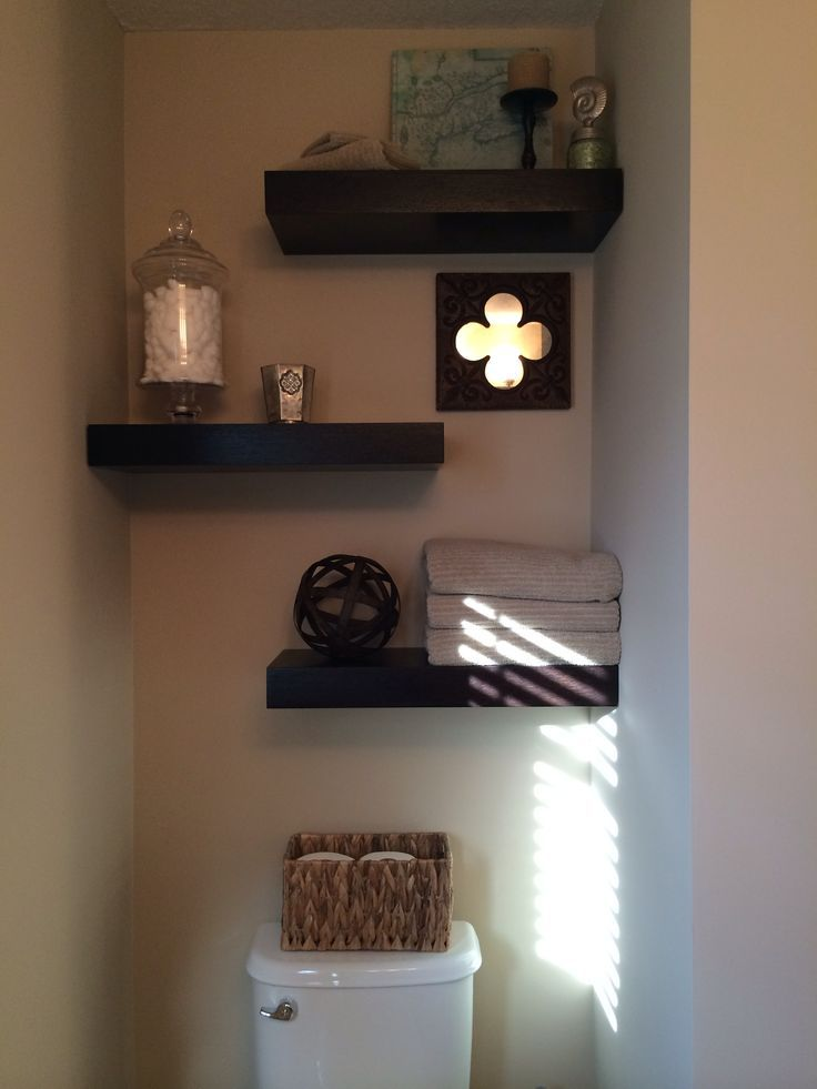 images decorative floating shelves for bathroom | Floating shelving ...