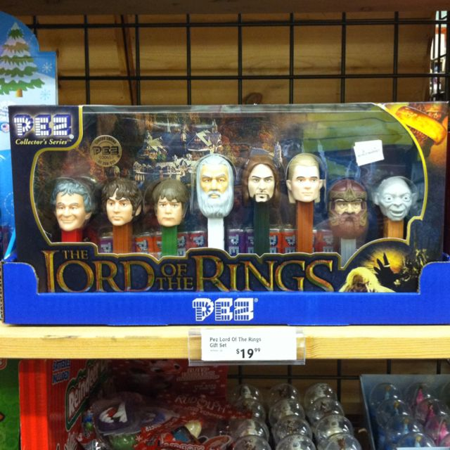 Lord of the Rings PEZ. My precious...