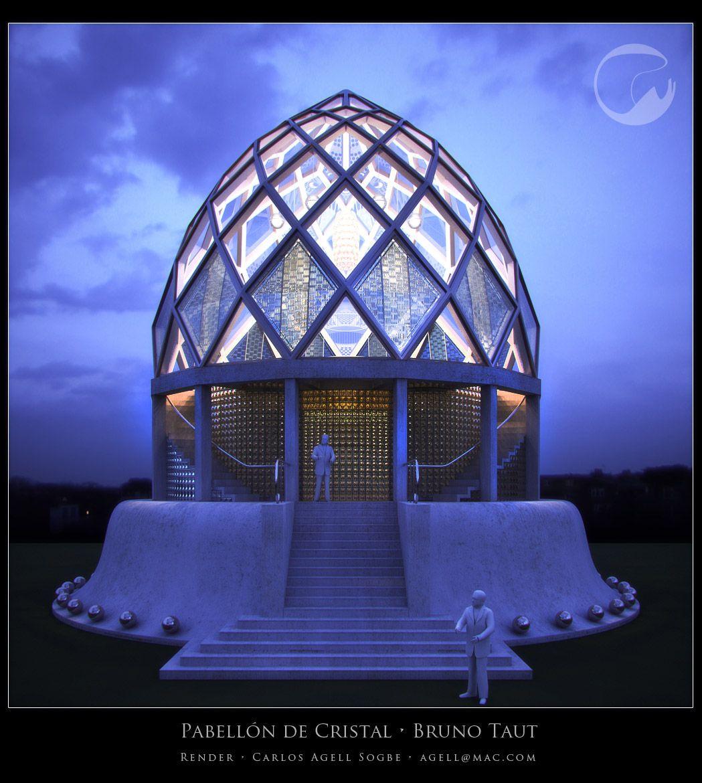 expresionismo bruno taut glass pavilion for the 1914 werkbund