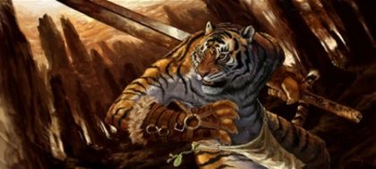 A tiger-patron animal soul's anthropomorphic form. - Animal Soul (3.5e Prestige Class) - D&D Wiki
