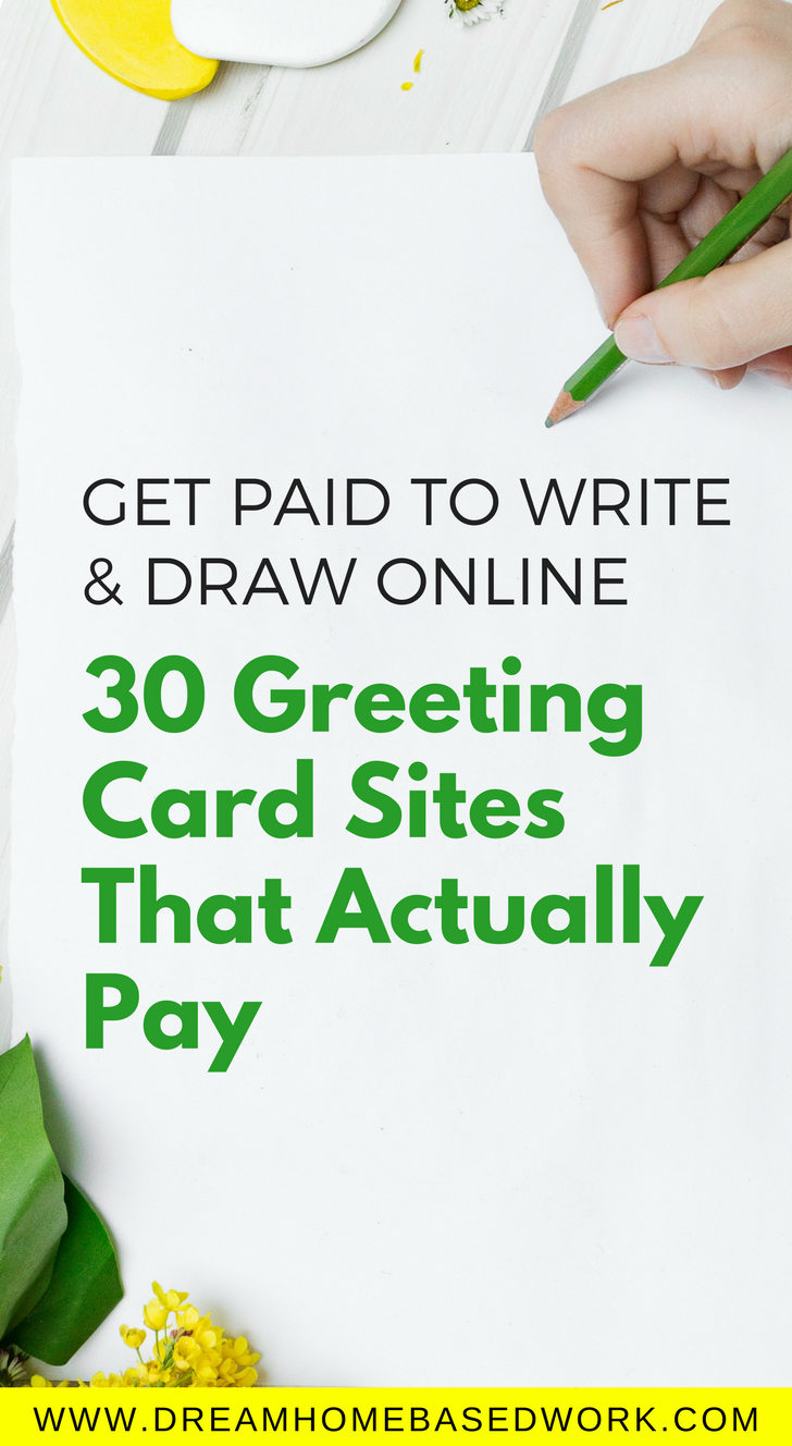 Get Paid To Write And Draw Online 30 Greeting Card Sites That