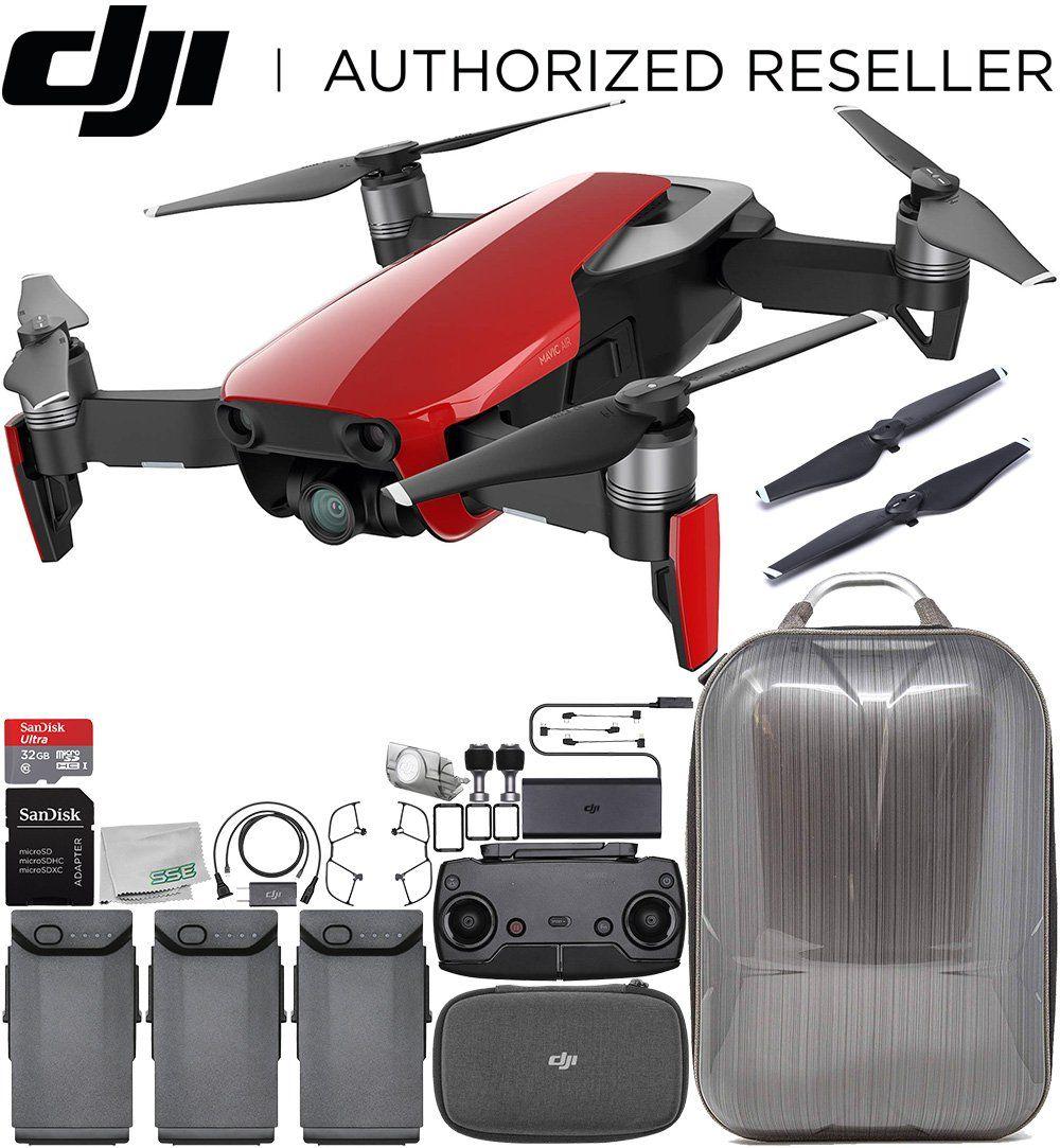 DJI Mavic Air Drone Quadcopter Flame Red Hard Shell