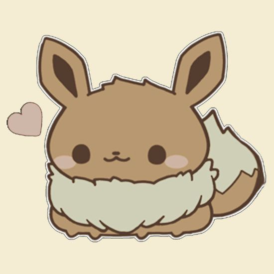 eevee cute pokemon so cute pinterest