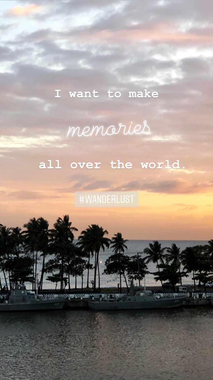 I Want To Make Memories All Over The World Santo Domingo Dominikanische Republik Wanderlust Sunset Zitat Travel Travelquot Santo Domingo Vacay Domingo