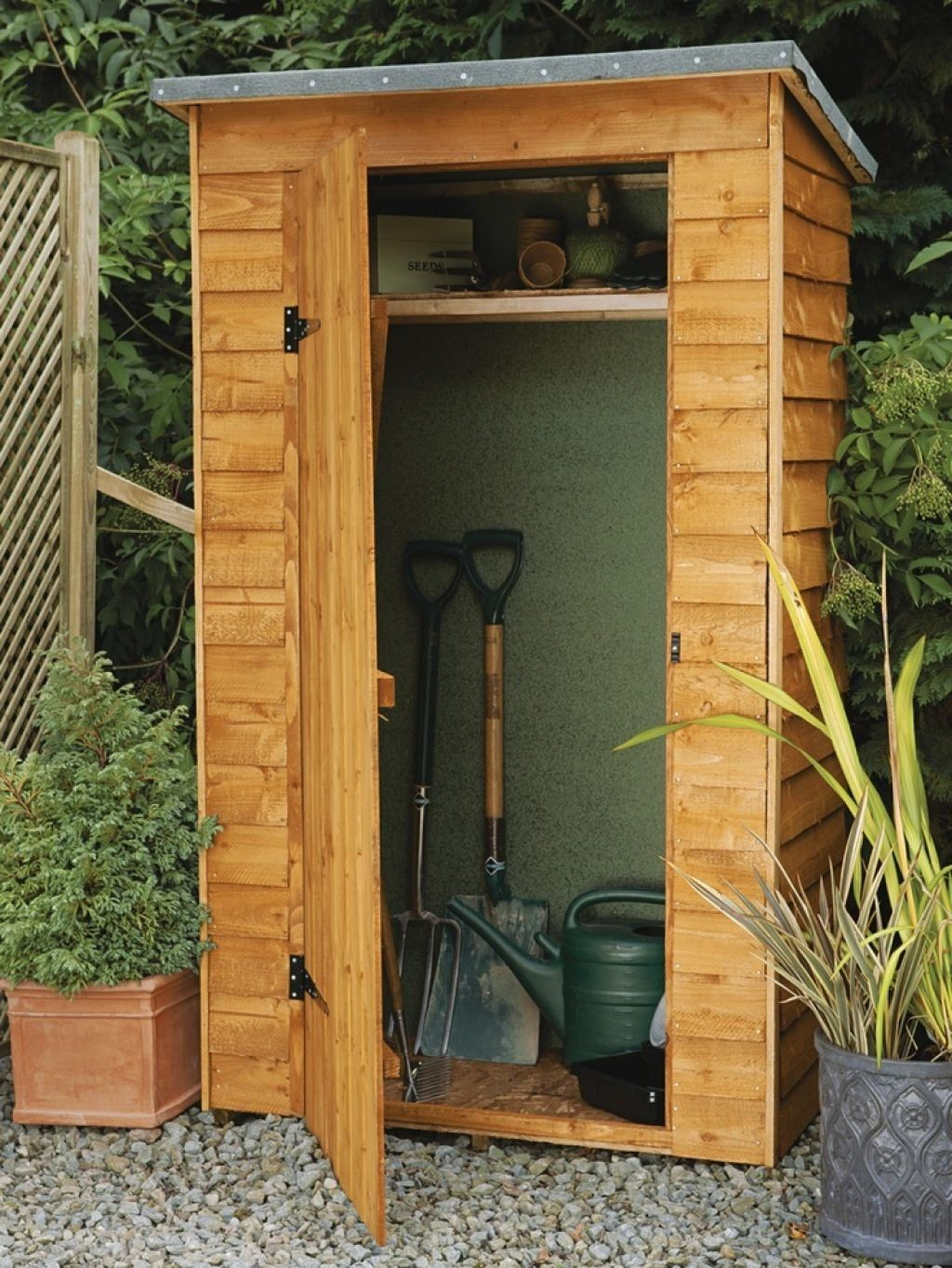 Build Your Own Tool Shed in 2019 | Small garden tools ...