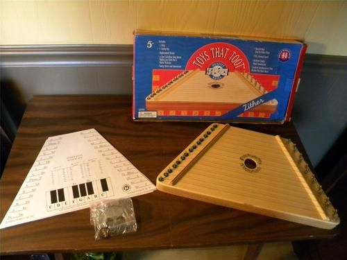 Zither musical instrument