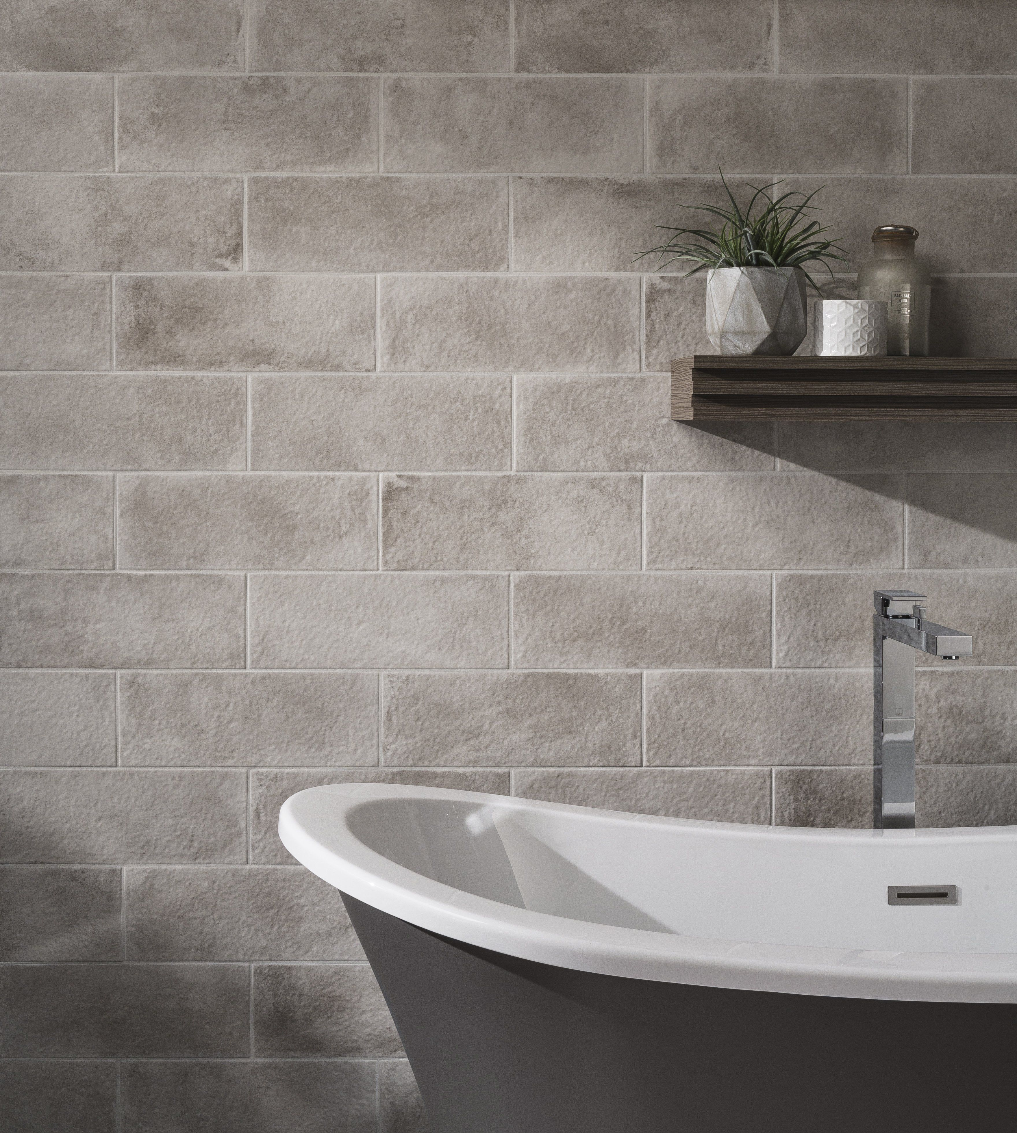 Johnson Tiles Harbour In Seaspray Johnsontiles Tiles Bathroomdesign Inspohome Design Deco Shower Wall Tile Bathroom Wall Tile Bathroom Tile Designs