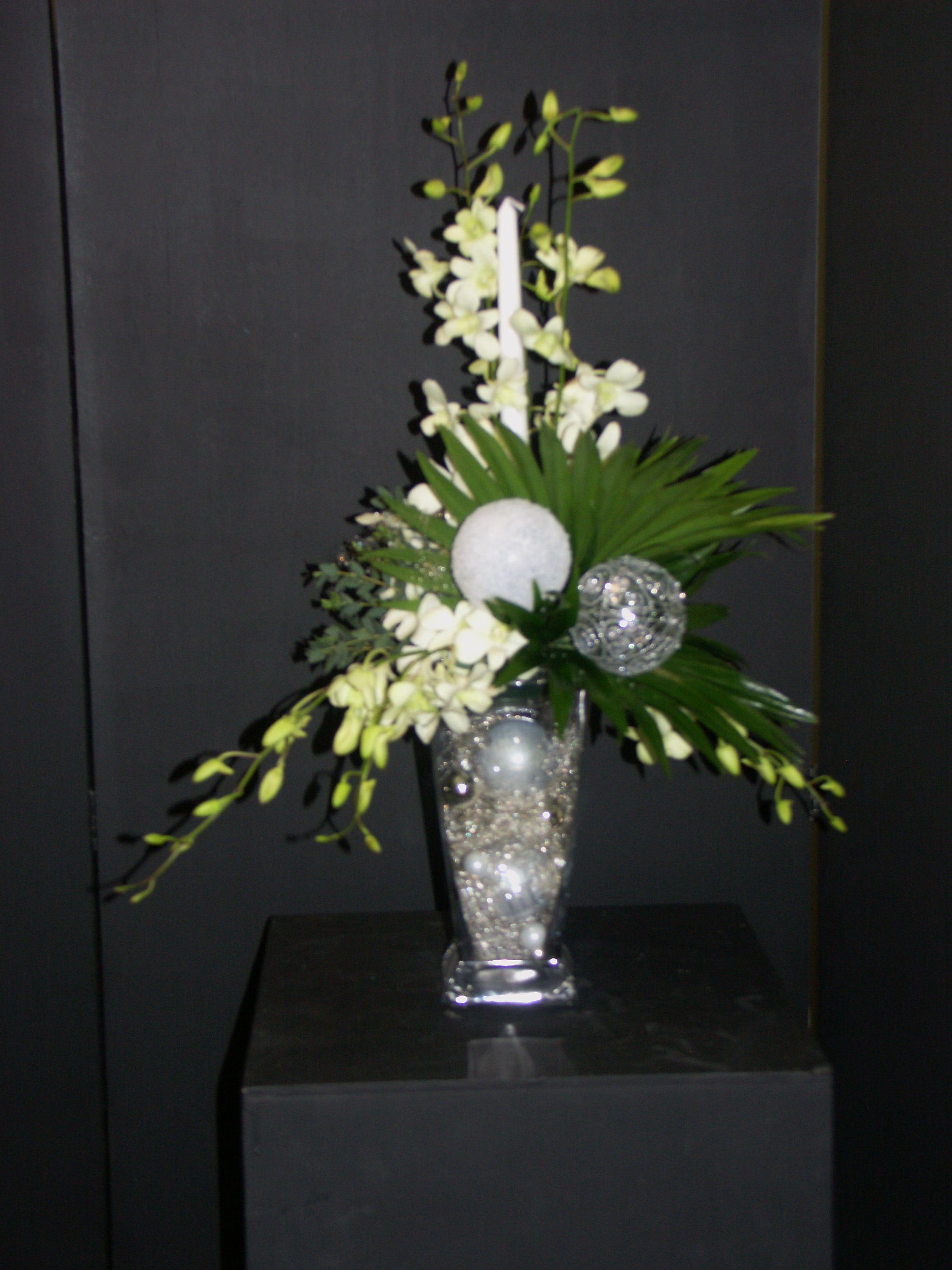 art floral pour no l compositions florales pinterest art floral compositions florales et. Black Bedroom Furniture Sets. Home Design Ideas